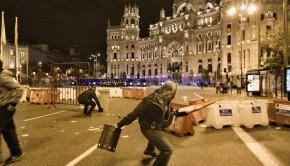 Huelga General del 14 de noviembre de 2012 en Madrid, España.