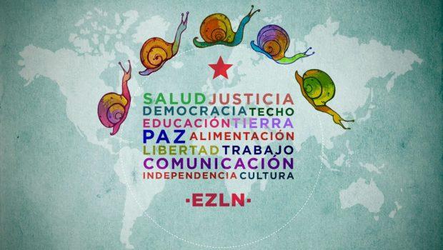Zapatista Nacional En Ejército Al Apoyo Comunicado De Liberación wqYIg4